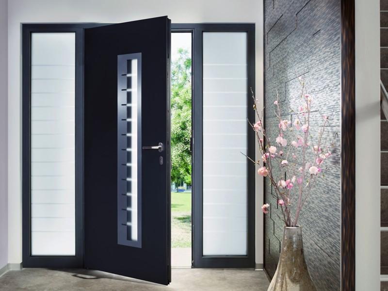 Алюминиевые входные двери Херманн