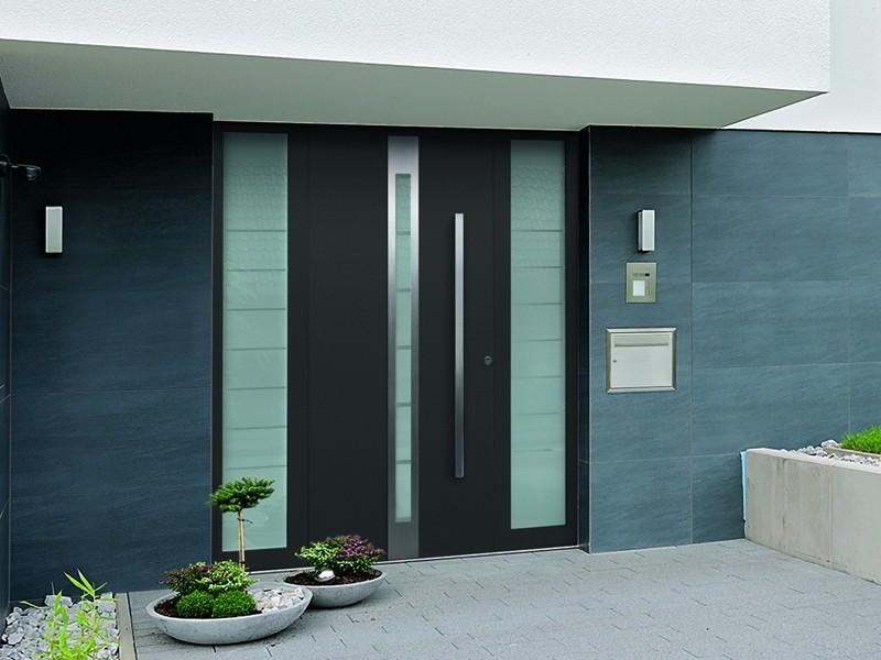 Алюминиевые входные двери Hoermann