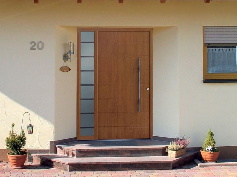 Алюминиевые входные двери Hörmann